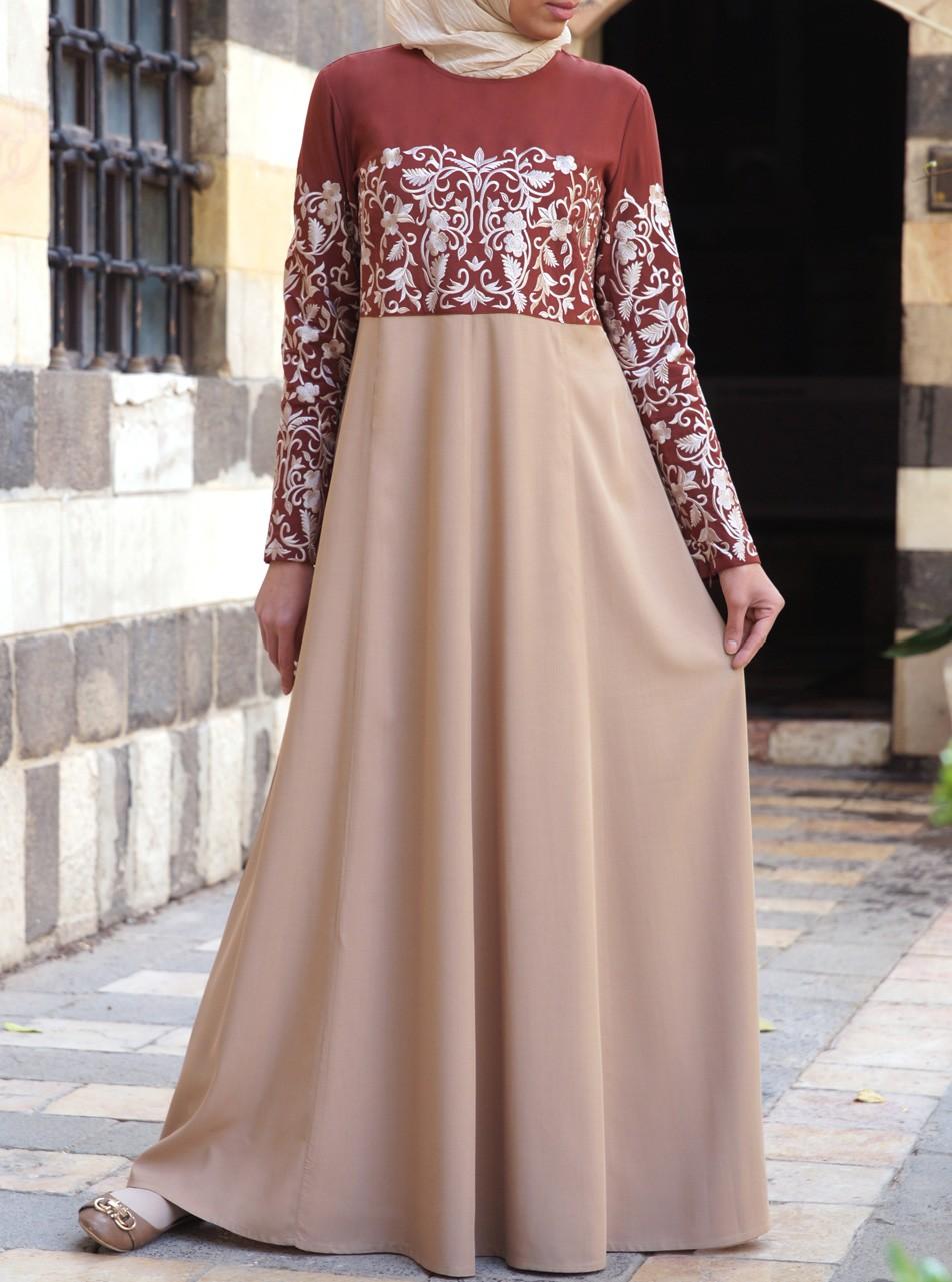 بالصور فساتين محجبات تركى , اروع الموديلات للملابس التركية للنساء المحجبة 1009 6