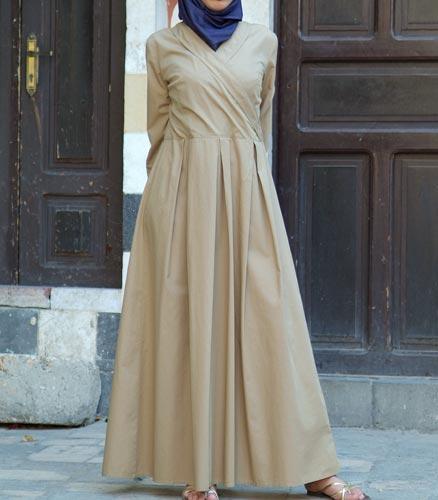 بالصور فساتين محجبات تركى , اروع الموديلات للملابس التركية للنساء المحجبة 1009 9