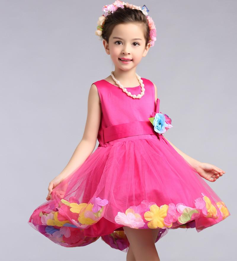 بالصور موديلات فساتين اطفال , فستان بنات 1047 4