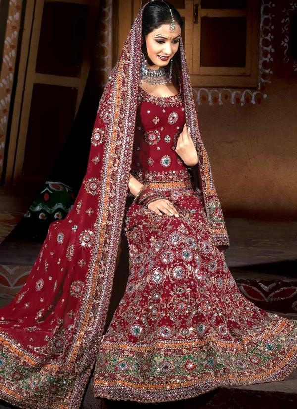 بالصور فساتين هنديه ساتره , صور الساري الهندي 1067 4