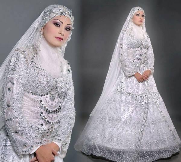 بالصور صور فساتين عروس , فستان زفاف ابيض 1068 8