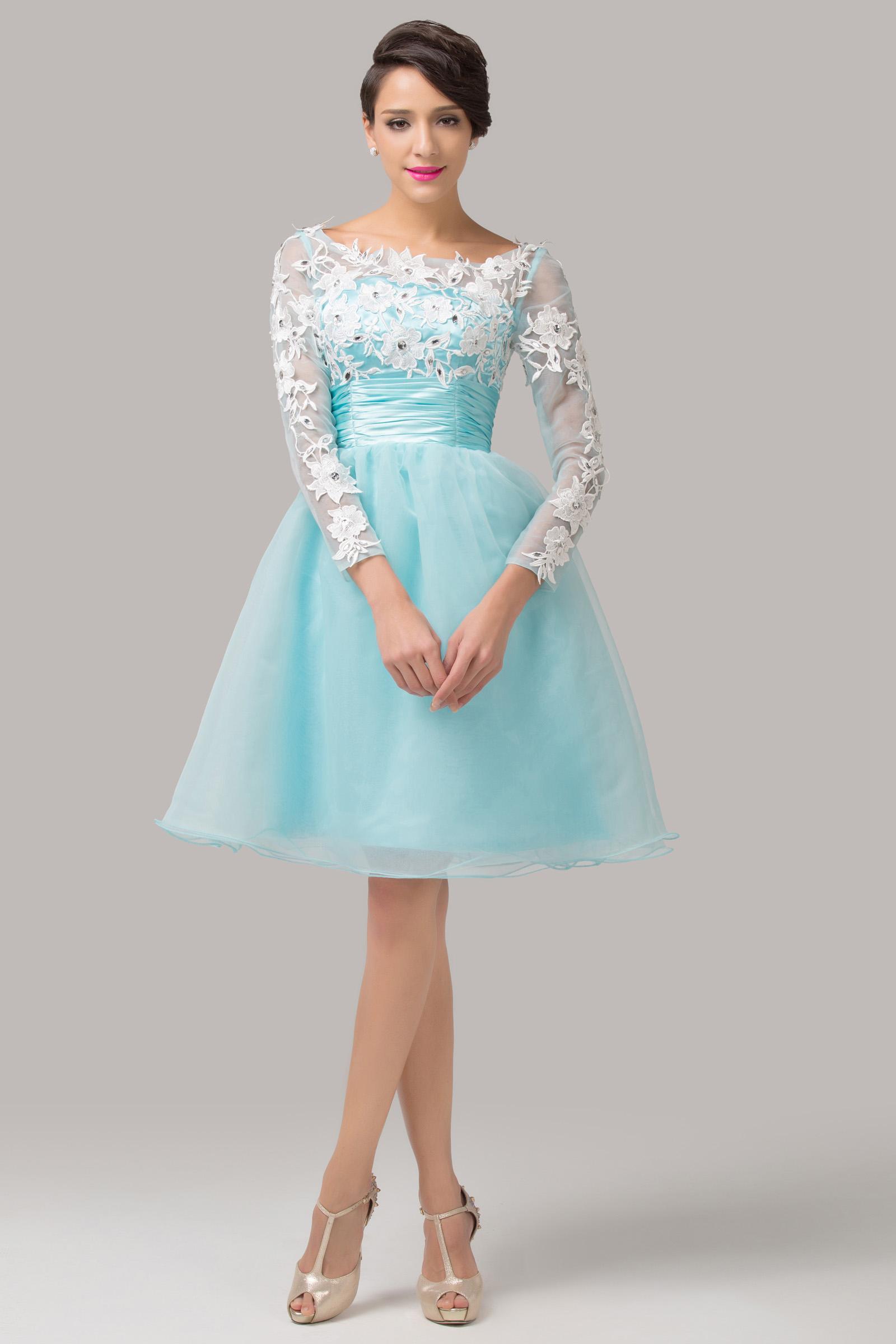 صورة فساتين سهرات قصيرة , فستان سواريه