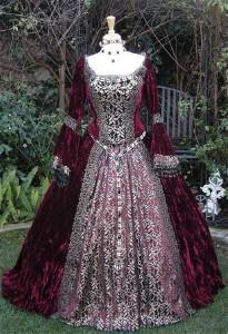 بالصور فساتين فرنسيه قديمه , ازياء وموديلات فستان رقيق 1094 5