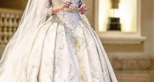 صوره فساتين زفاف زهير مراد , فخامة الابيض