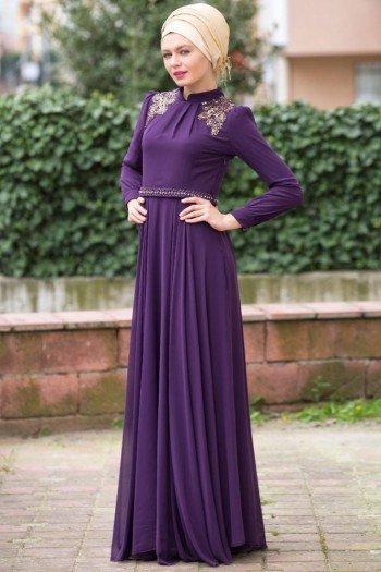 بالصور ازياء محجبات , تصاميم ملابس للفتاة المحجبة 1224 3