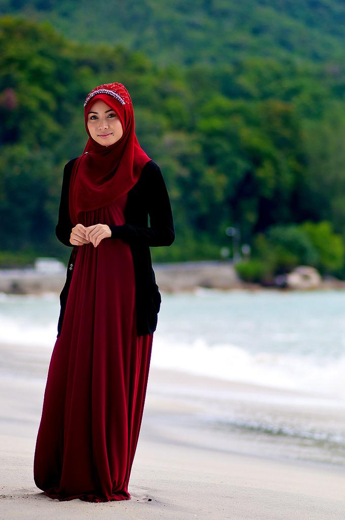 بالصور ازياء محجبات , تصاميم ملابس للفتاة المحجبة 1224 4