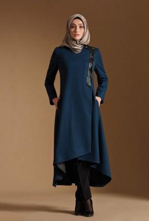 بالصور ازياء محجبات , تصاميم ملابس للفتاة المحجبة 1224 7