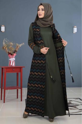 بالصور ازياء محجبات , تصاميم ملابس للفتاة المحجبة 1224