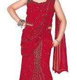 بالصور فساتين هندية للاطفال , السارى الهندى 1227 10 159x165