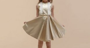 صور فساتين اطفال للمناسبات , فستان شياكة للبنوتة الصغيرة
