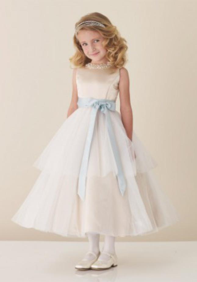 بالصور فساتين اطفال للمناسبات , فستان شياكة للبنوتة الصغيرة 1228 2
