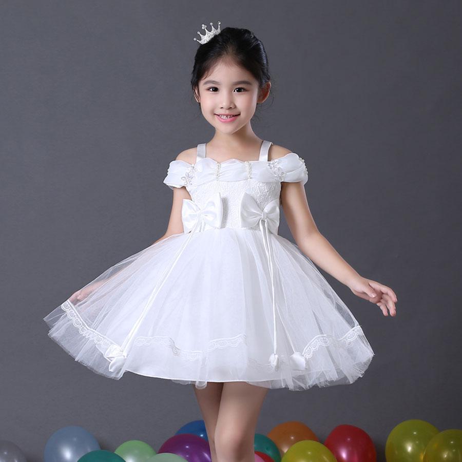بالصور فساتين اطفال للمناسبات , فستان شياكة للبنوتة الصغيرة 1228 5