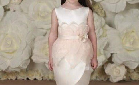 بالصور فساتين اطفال للمناسبات , فستان شياكة للبنوتة الصغيرة 1228 7