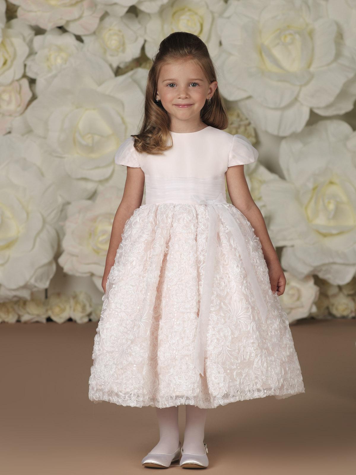 بالصور فساتين اطفال للمناسبات , فستان شياكة للبنوتة الصغيرة 1228 8