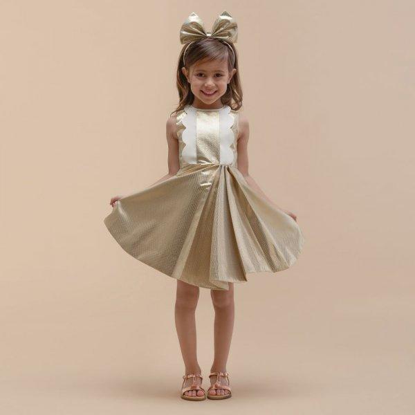 بالصور فساتين اطفال للمناسبات , فستان شياكة للبنوتة الصغيرة 1228