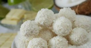 صورة حلى جوز الهند , طريقة حلى جوز الهند الرائع