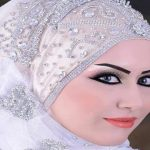 لفات حجاب عرايس , احدث اشكال لطرحة الفرح