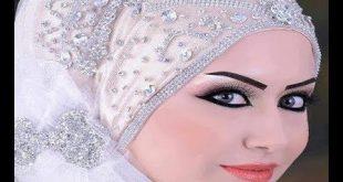 صوره لفات حجاب عرايس , احدث اشكال لطرحة الفرح