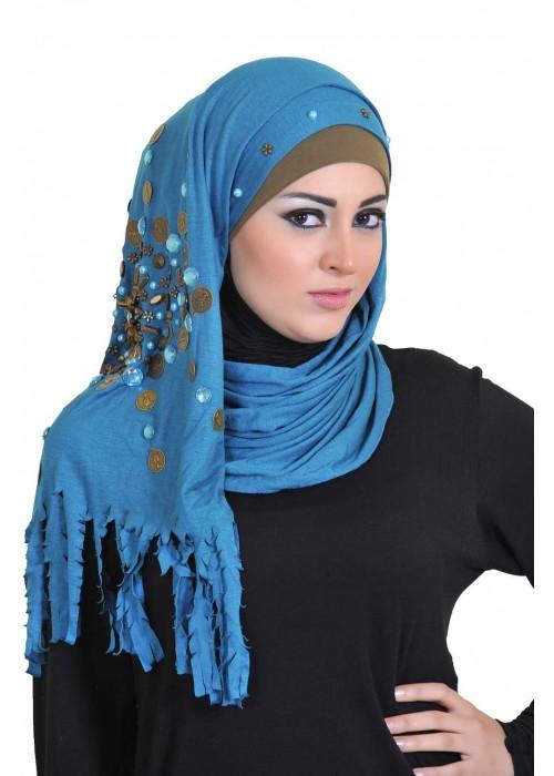 بالصور موضة الحجاب , احدث لفات الطرح الخطيرة 2328 6