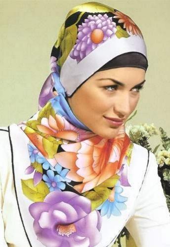 بالصور موضة الحجاب , احدث لفات الطرح الخطيرة 2328 7