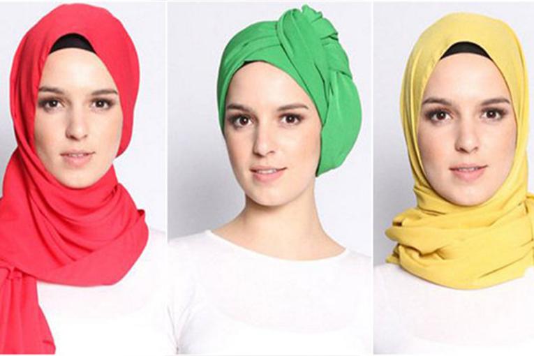 بالصور موضة الحجاب , احدث لفات الطرح الخطيرة 2328