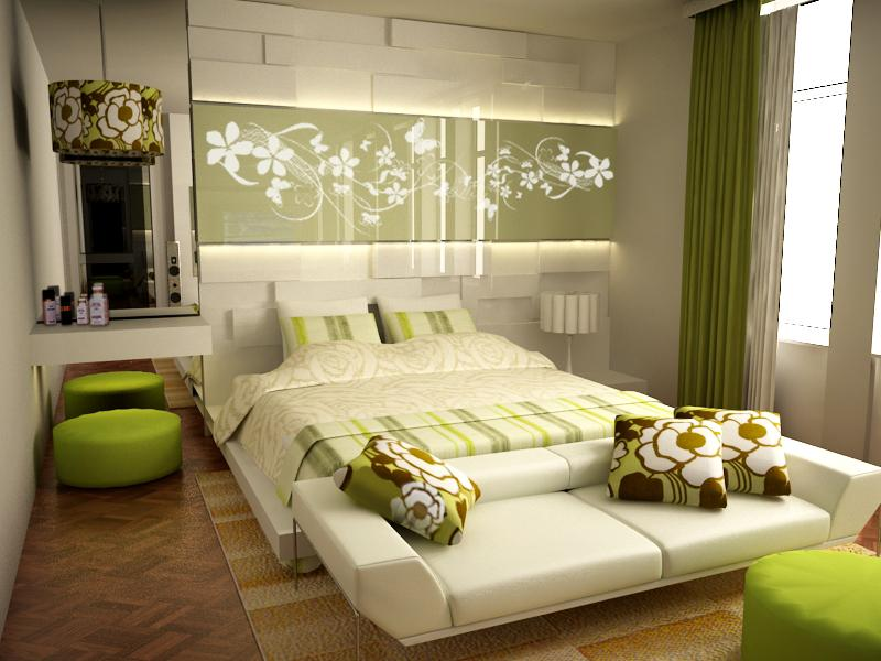 صورة ديكور غرف النوم , احدث الديكورات لغرفة نوم