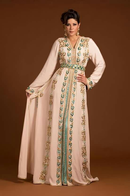 بالصور قفاطين جزائرية 2019 , احلي ملابس للنساء من الجزائر 2364 4
