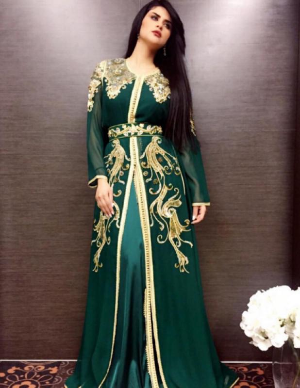 بالصور قفاطين جزائرية 2019 , احلي ملابس للنساء من الجزائر 2364