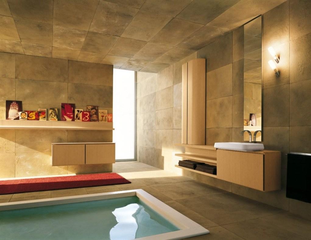 بالصور حمام ايطالي , ديكورات لحمامات الايطالية 2413 3