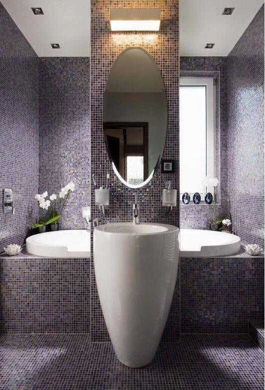 بالصور حمام ايطالي , ديكورات لحمامات الايطالية 2413 6
