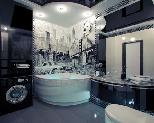 بالصور حمام ايطالي , ديكورات لحمامات الايطالية 2413 8