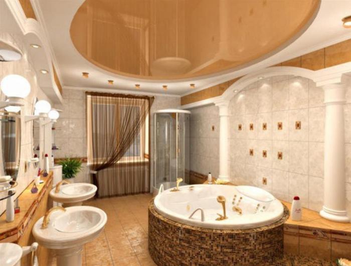 بالصور حمام ايطالي , ديكورات لحمامات الايطالية 2413