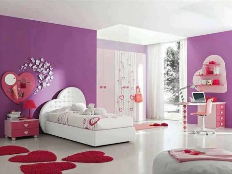 صوره غرف بنات كبار , تصاميم غرف للبنات الشابات