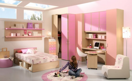 بالصور غرف بنات كبار , تصاميم غرف للبنات الشابات 2524 3