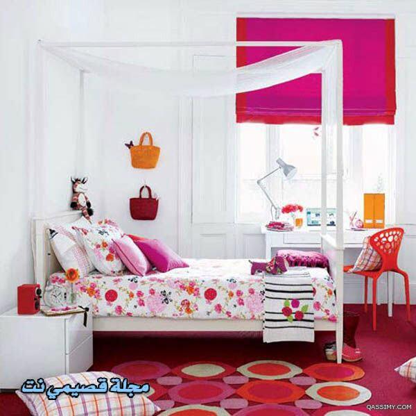بالصور غرف بنات كبار , تصاميم غرف للبنات الشابات 2524 7