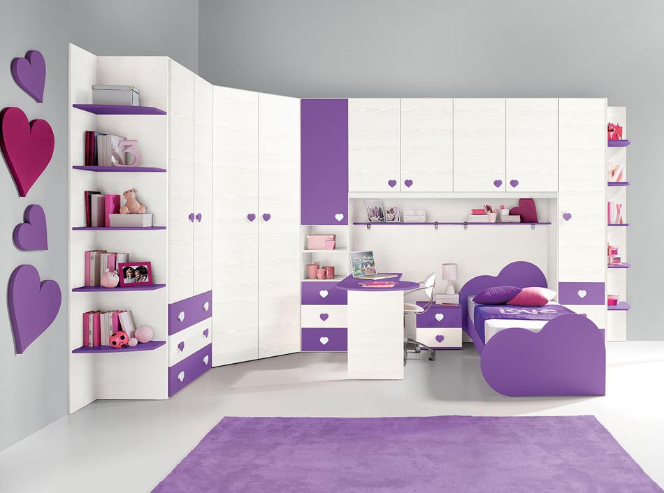 بالصور غرف بنات كبار , تصاميم غرف للبنات الشابات 2524 8