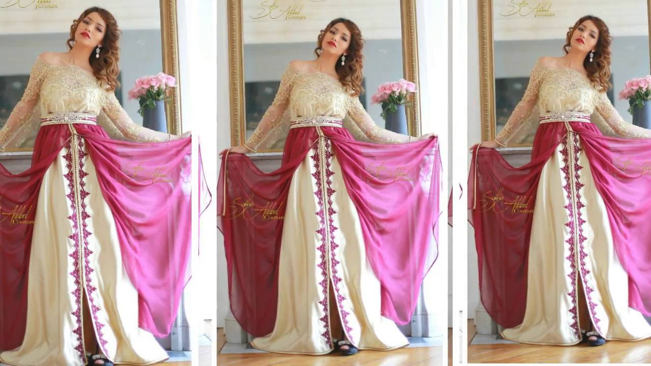 صوره قفاطين جزائرية للاعراس , لباس العروس بالجزائر