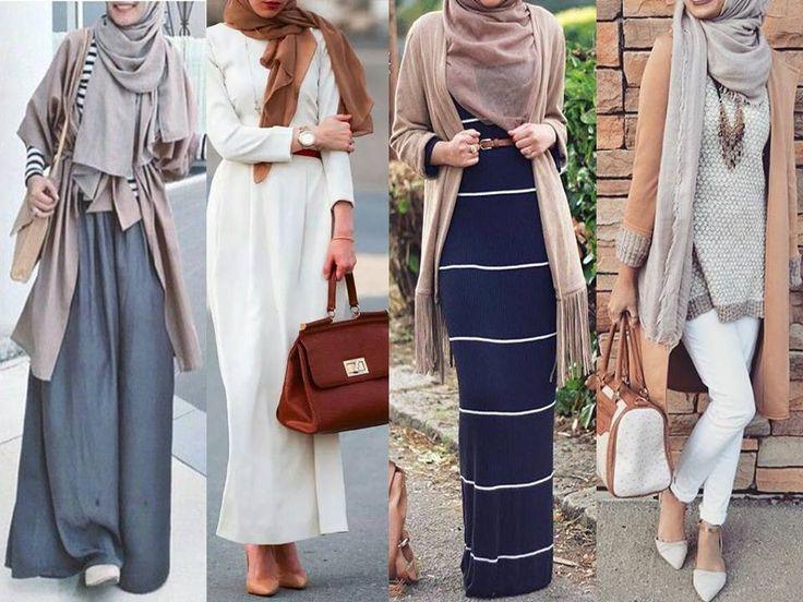 بالصور ازياء كاجوال حجاب ملابس محجبات على الموضه , موديلات عملية للمحتشمات 3062 3