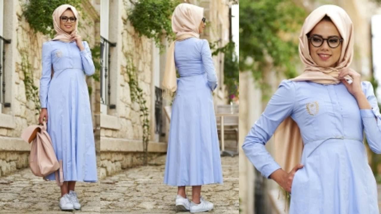 بالصور ازياء كاجوال حجاب ملابس محجبات على الموضه , موديلات عملية للمحتشمات 3062 4
