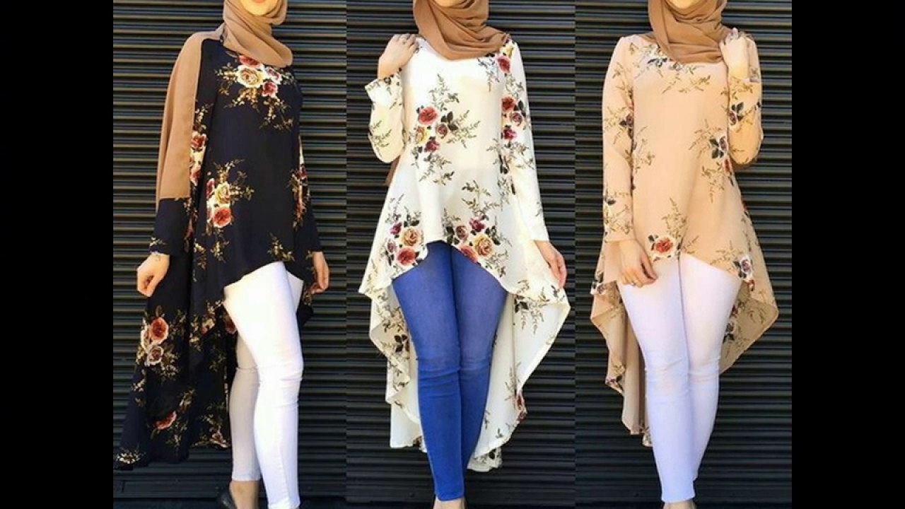 بالصور ازياء كاجوال حجاب ملابس محجبات على الموضه , موديلات عملية للمحتشمات 3062 6