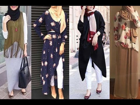 بالصور ازياء كاجوال حجاب ملابس محجبات على الموضه , موديلات عملية للمحتشمات 3062 8