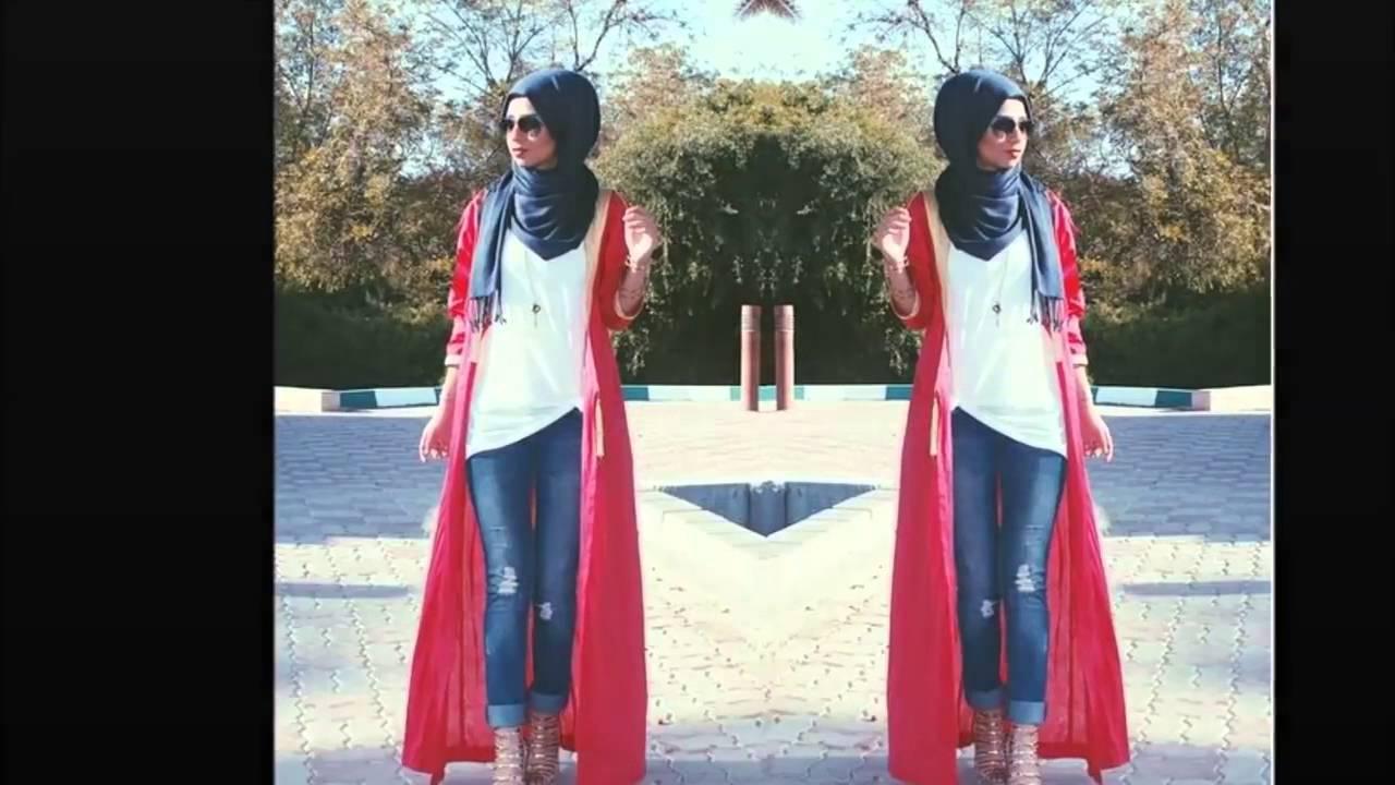 بالصور ازياء كاجوال حجاب ملابس محجبات على الموضه , موديلات عملية للمحتشمات 3062 9