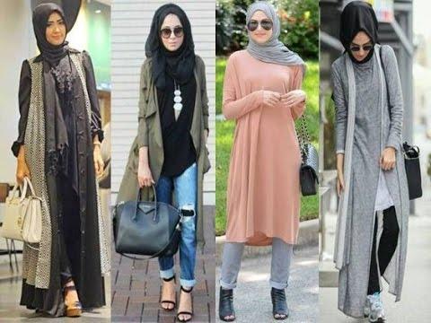 صور ازياء كاجوال حجاب ملابس محجبات على الموضه , موديلات عملية للمحتشمات