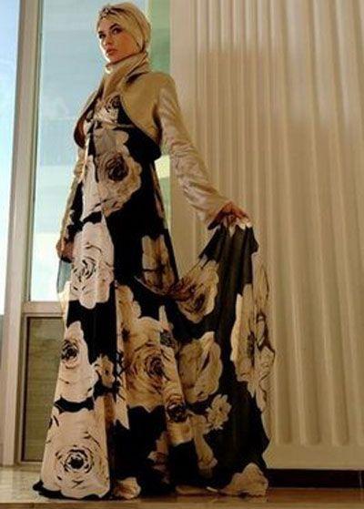 بالصور ازياء محجبات احدث موديلات محجبات مودرن حجاب ستايل يجنن , كولكشن للمحتشمات 3071 6