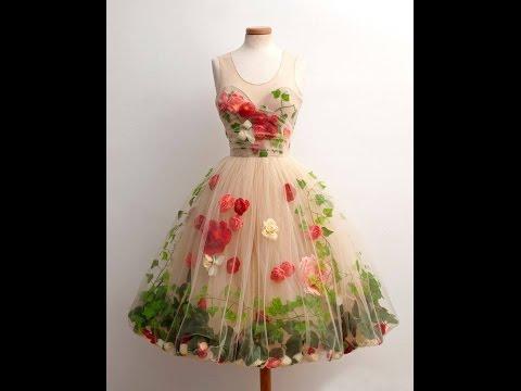 بالصور فساتين ناعمه قصيرة منفوشه , موديلات لفستان بنات كيوت 3091 6