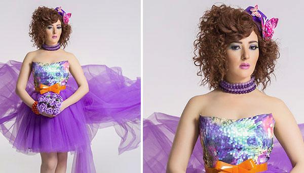 بالصور فساتين ناعمه قصيرة منفوشه , موديلات لفستان بنات كيوت 3091 9