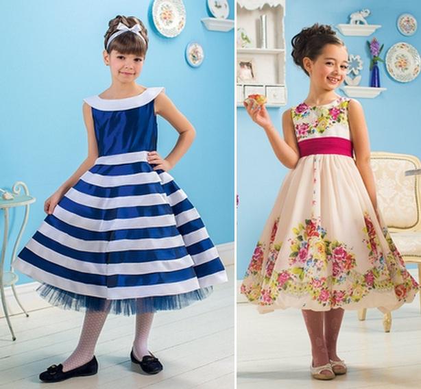 بالصور فساتين اطفال جديدة , تشكيلة منوعة لفستان بنوتة 3178 8
