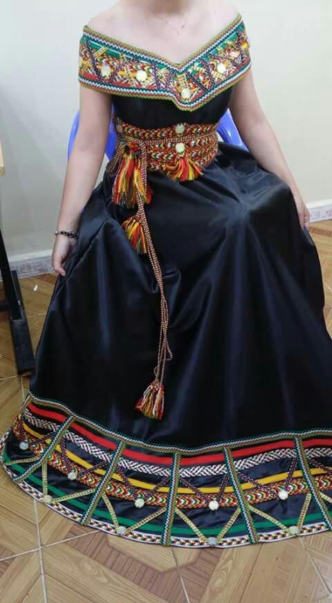 بالصور فساتين جزائرية قبائلية , اجمل فساين جزائريه 3216 10