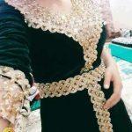 فساتين جزائرية قطيفة 2020 , صورة اجمل فستان