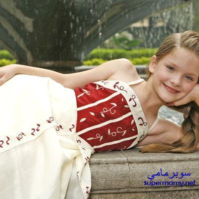 صوره فساتين سهرة لعمر 10 سنوات , فساتين بنات صغار